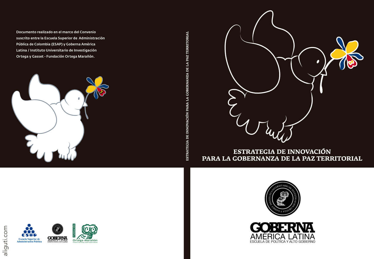Colombian Peace Dove - Editorial Illustration