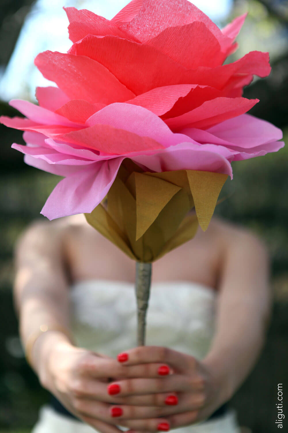 Flower Installation - Paper Art