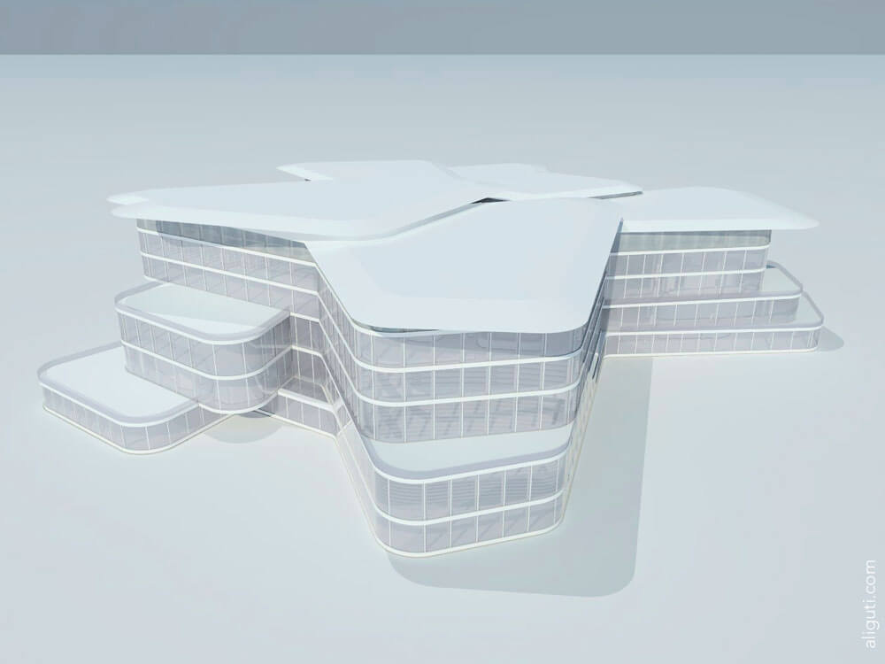Nobel Center - 3D Modelling